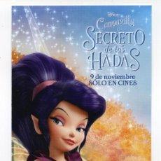 Cine: CAMPANILLA, EL SECRETO DE LAS HADAS, DIBUJOS ANIMADOS.. Lote 36550137