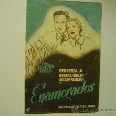 Cine: PROGRAMA DOBLE ENAMORADOS . Lote 34975317
