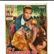 Cine: LA LEYENDA DE GENOVEVA SALA REUS 1953. Lote 34987230