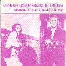 Cine: LA HUIDA (CON PUBLICIDAD). Lote 35017697