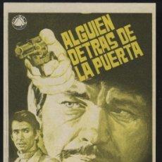 Cine: P-0382- ALGUIEN DETRAS DE LA PUERTA (ERROR DE IMPRESIÓN) (CHARLES BRONSON - ANTHONY PERKINS). Lote 51361248