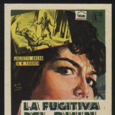 Cine: P-0380- LA FUGITIVA DEL RHIN (WHIRLPOOL) (DICISU) O.W. FISCHER - JULIETTE GRÉCO - MURIEL PAVLOW. Lote 35063362