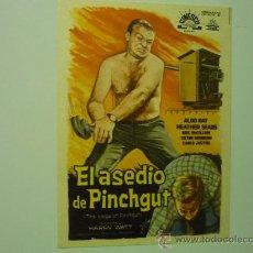 Cine: PROGRAMA EL ASEDIO DE PINCHGUT -ALDO RAY. Lote 35147339