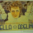 Cine: PROGRAMA DOBLE BELLA ADELINA- IRENE DUNNE. Lote 35214579