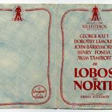Cine: LOBOS DEL NORTE, CON HENRY FONDA.. Lote 35221776