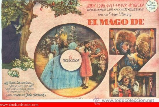 Cine: EL MAGO DE OZ - Foto 2 - 35275175