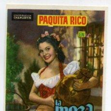 Cine: LA MOZA DEL CANTARO, CON PAQUITA RICO.. Lote 171710168