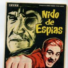 Cine: NIDO DE ESPIAS, CON ROGER HANIN.. Lote 35302877
