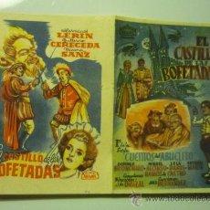 Cine: PROGRAMA DOBLE ARAJOL EL CASTILLO DE LAS BOFETADAS. Lote 35326724