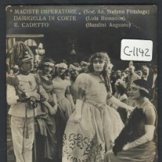 Cine: MACISTE IMPERATORE - TARJETA - (C-1142). Lote 35328288
