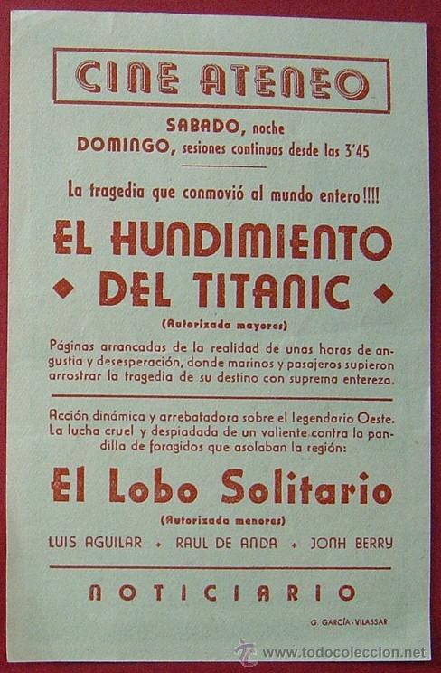 Cine: EL HUNDIMIENTO DEL TITANIC - Foto 2 - 35398265
