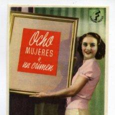 Cine: OCHO MUJERES Y UN CRIMEN, CON HENRY FONDA.. Lote 35450347