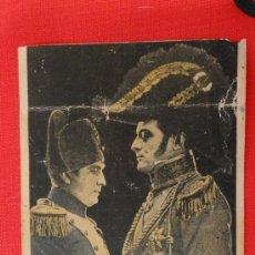 Cine: EL JOVEN MEDARDUS, PROGRAMA TARJETA 1925, CON PUBLICIDAD TEATRO BARTRINA REUS. Lote 35453358