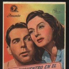 Cine: P-0517- UN ENCUENTRO EN EL PACIFICO (FLIGHT FOR FREEDOM) ROSALIND RUSSELL - FRED MACMURRAY. Lote 35459259