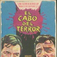 Cine: EL CABO DEL TERROR (CON PUBLICIDAD). Lote 35506226