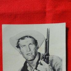 Cine: EL ZURDO, PROGRAMA TARJETA 1962 EXCELENTE ESTADO, PAUL NEWMAN, PUBLICIDAD KURSAAL. Lote 35594540