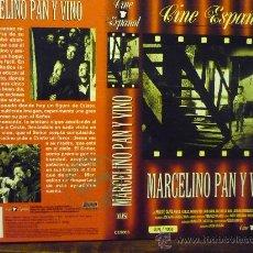 Cine: CARATULA VIDEO VHS MARCELINO PAN Y VINO. Lote 35653355