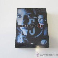 Cine: EXPEDIENTE X - QUINTA TEMPORADA COMPLETA. Lote 35726809