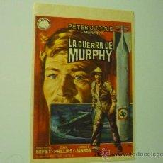 Cine: PROGRAMA LA GUERRA DE MURPHY-PETER O' TOOLE. Lote 35936826