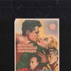 Cine: PROGRAMA DE CINE. CON PUBLICIDAD. S.O.S. DAKAR. MARAIS, MORGAN. CERVANTES. . Lote 36005903