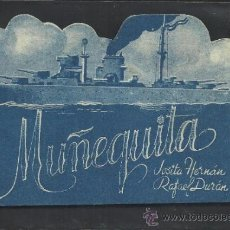 Cine: MUÑEQUITA - DOBLE - TROQUELADO - SALON NACIONAL - (C- 1.163). Lote 36009475
