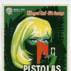 Cine: PISTOLAS SECRETAS, CON HILDEGARD KNEF.. Lote 143065334
