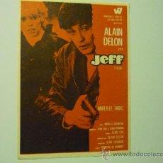 Cine: PROGRAMA JEFF.- ALAIN DELON. Lote 36083323
