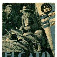 Cine: EL GATO MONTÉS - CINE IDEAL (ALICANTE). Lote 36153856