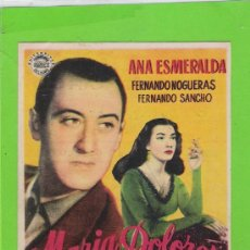 Cine: MARIA DOLORES. Lote 36178861