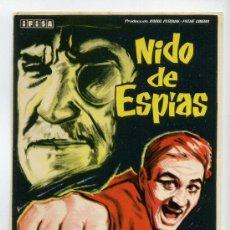 Cine: NIDO DE ESPIAS, CON ROGER HANIN.. Lote 36267760