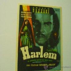 Cine: PROGRAMA HARLEM -AMADEO NAZZARI. Lote 36282110