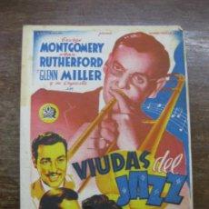 Cine: VIDAS DEL JAZZ. GEORGE MONTGOMERY. ANNE RUTHERFORD. GLENN MILLER.. Lote 36328071