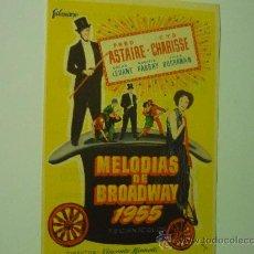 Kino - PROGRAMA MELODIAS DE BROADWAY--FRED ASTAIRE - 36420721