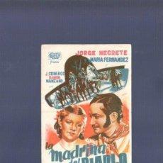 Cine: PROGRAMA DE CINE. S/P. LA MADRINA DEL DIABLO. GRAFICAS VALENCIA. . Lote 36452551