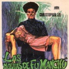 Cine: LAS NOVIAS DE FU-MANCHÚ 1966 (DON SHARP). Lote 36517453
