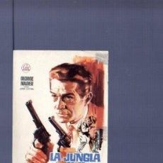 Cine: PROGRAMA DE CINE. SIN PUBLICIDAD. LA JUNGLA DE LOS GANGSTER. HIJO DE B. BAÑO, BARCELONA.. Lote 194631833