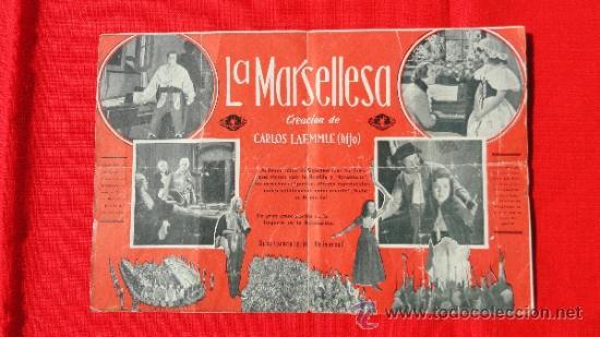 Cine: LA MARSELLESA, DOBLE 1931, JOHN BOLES Y LAURA LA PLANTE, CON PUBLICIDAD TEATRO FORTUNY - Foto 2 - 36541511