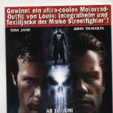 Cine: THE PUNISHER, CON JOHN TRAVOLTA.. Lote 159560600