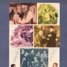 Cine: PROGRAMA DE CINE DOBLE. SIN PUBLICIDAD. EL PRINCIPE ESTUDIANTE. VILADOT, BARCELONA.. Lote 194631706