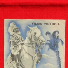 Cine: ABISINIA, PROGRAMA DOBLE 1936, FILMS VICTORIA, DOCUMENTAL CON PUBLICIDAD SALÓ KURSAAL. Lote 36592422