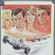 Cine: G4518 GRAND PRIX PROGRAMA MGM GRANDE FORMULA 1 AUTOMOVILISMO CARRERAS JAMES GARNER. Lote 36602909