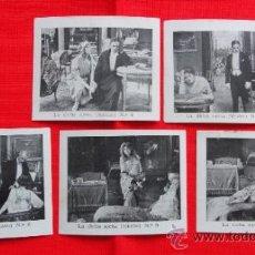 Cine: LA DICHA AJENA, 5 RECLAM TIKET FILMS, FALTA Nº1, CON ARGUMENTO, 1915 APROX. Lote 36616557