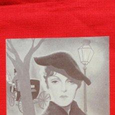 Cine: STRADIVARIUS, IMPECABLE DOBLE 1935, GUSTAV FROTHLICH, CON PUBLICIDAD SALA EDISON. Lote 36642256