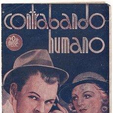 Cine: CONTRABANDO HUMANO PROGRAMA DOBLE 20TH CENTURY FOX CLAIRE TREVOR RITA HAYWORTH BRIAN DONLEVY. Lote 36653667