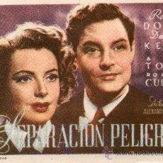 Cine: SEPARACIÓN PELIGROSA(ALEXANDER KORDA)1945 ROBERT DONAT, DEBORAH KERR. Lote 42654677