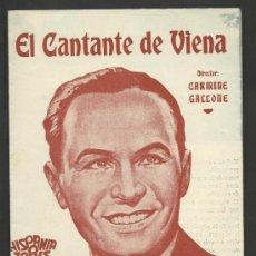 Cine: EL CANTANTE DE VIENA - DOBLE - VER FOTOS ADIC. - (C-1220). Lote 36665156