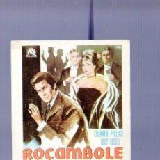 Cine: PROGRAMA DE CINE. SIN PUBLICIDAD. ROCAMBOLE. KARMAT, VELASCO. . Lote 36692335