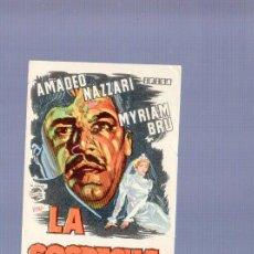 Cine: PROGRAMA DE CINE. SIN PUBLICIDAD. LA SOSPECHA. I.G. MARI, BARCELONA. . Lote 36712083