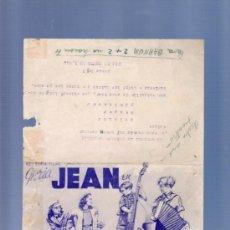 Cine: PROGRAMA DE CINE DOBLE. CON PUBLICIDAD. NIÑA REVOLTOSA. . Lote 36782494