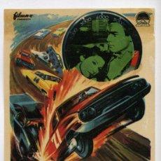Folhetos de mão de filmes antigos de cinema: PELIGRO...LINEA 7000, CON JAMES CAAN.. Lote 36800346